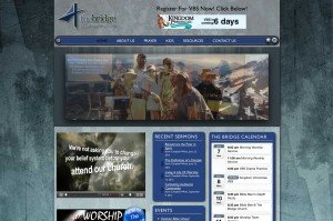 church website designer for chruch website design