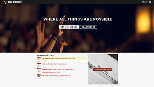 genesis web design for churches
