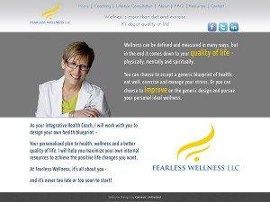 health web design
