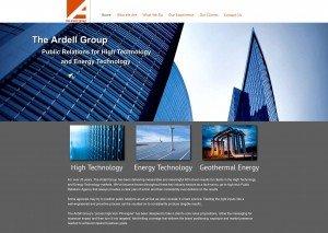 green technology website design