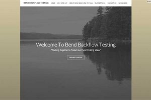 Bend Backflow Testing