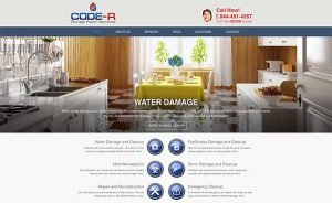 construction repair web design
