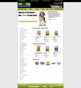 ecommerce delivery web design