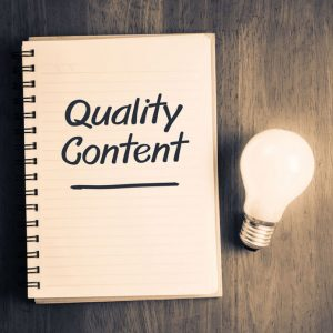 good content equals better web traffic